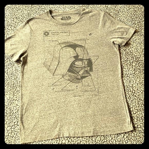 Star Wars Other - Star Wars branded Vader Helmet schematic T-shirt.